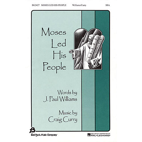 Fred Bock Music Moses Led His People SSA composed by J. Paul Williams thumbnail