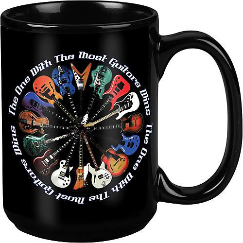 Taboo Most Guitars Win Black Mug 15 oz thumbnail