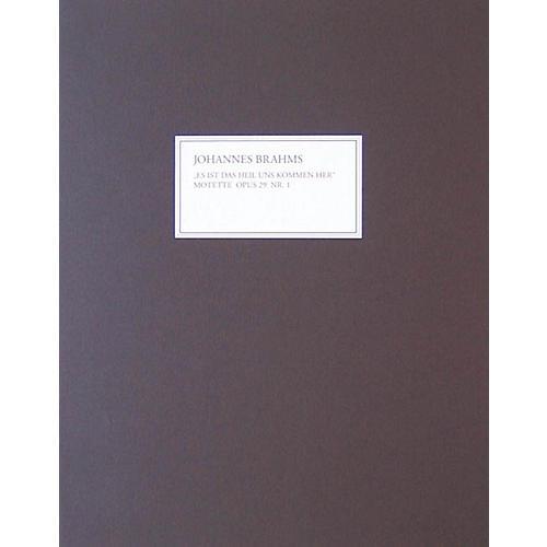 G. Henle Verlag Motet Op. 29, No. 1 (Facsimile) Henle Facsimile Series Softcover thumbnail