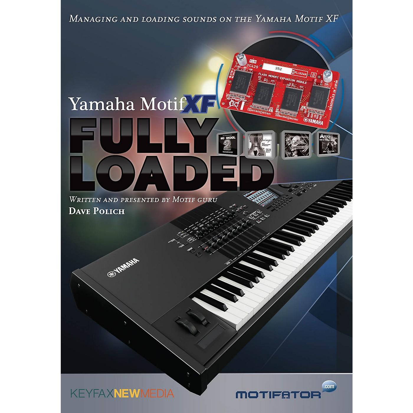 Keyfax Motif XF Fully Loaded DVD Series DVD Written by Dave Polich thumbnail