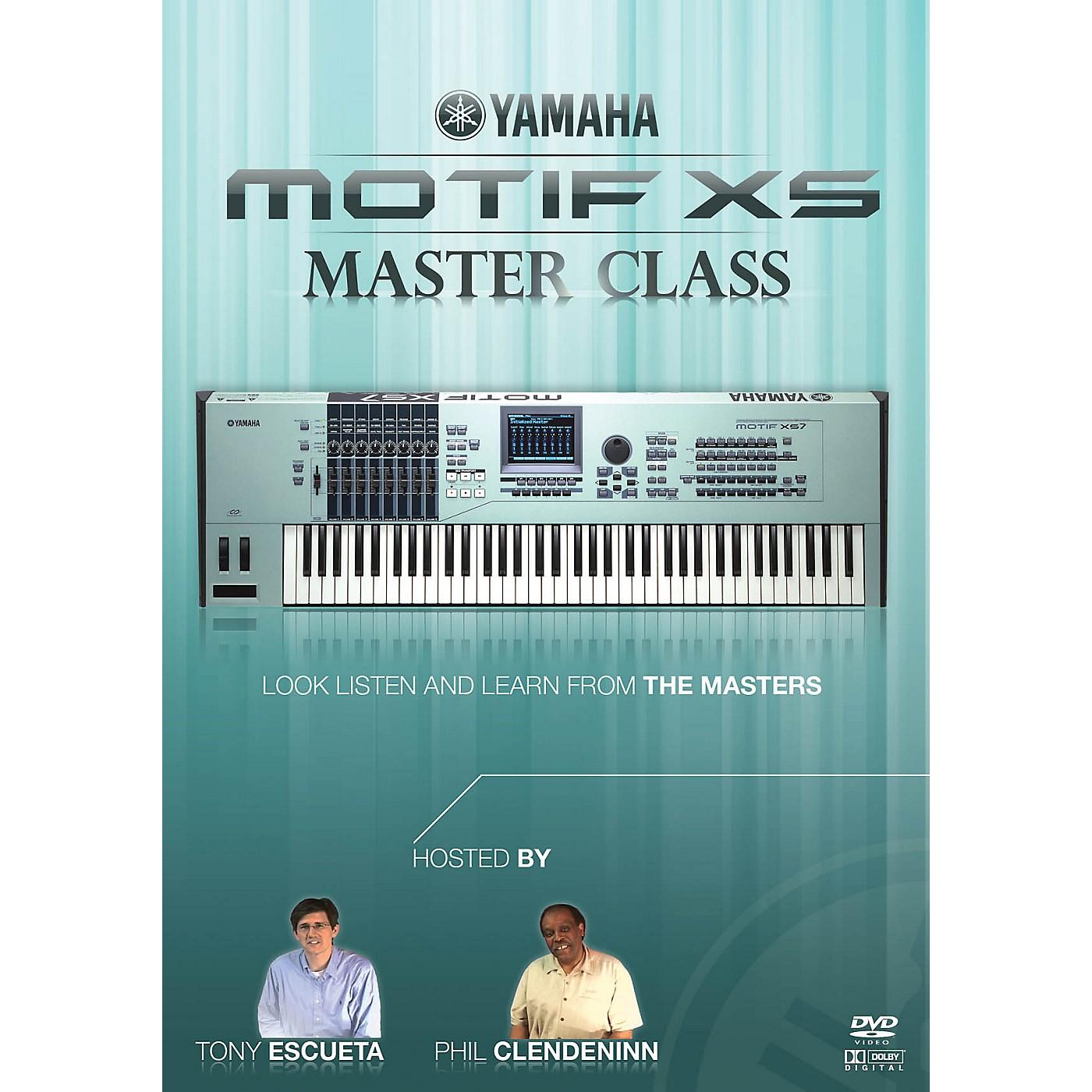 Keyfax Motif XS MasterClass DVD Series DVD Written by Various thumbnail