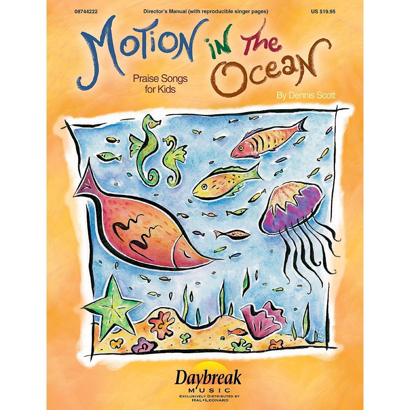 Daybreak Music Motion in the Ocean CD 10-PAK Composed by Dennis Scott thumbnail