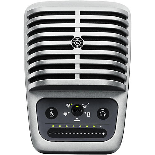 Shure Motiv MV51 Digital Large-Diaphragm Condenser Microphone with USB and Lightning Cables Included thumbnail