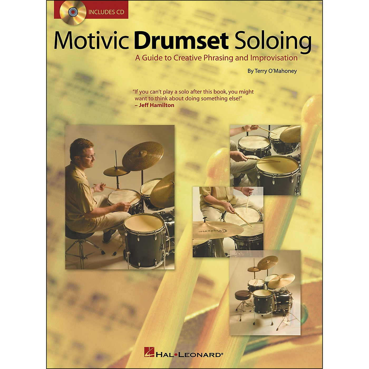 Hal Leonard Motivic Drumset Soloing Book/CD thumbnail