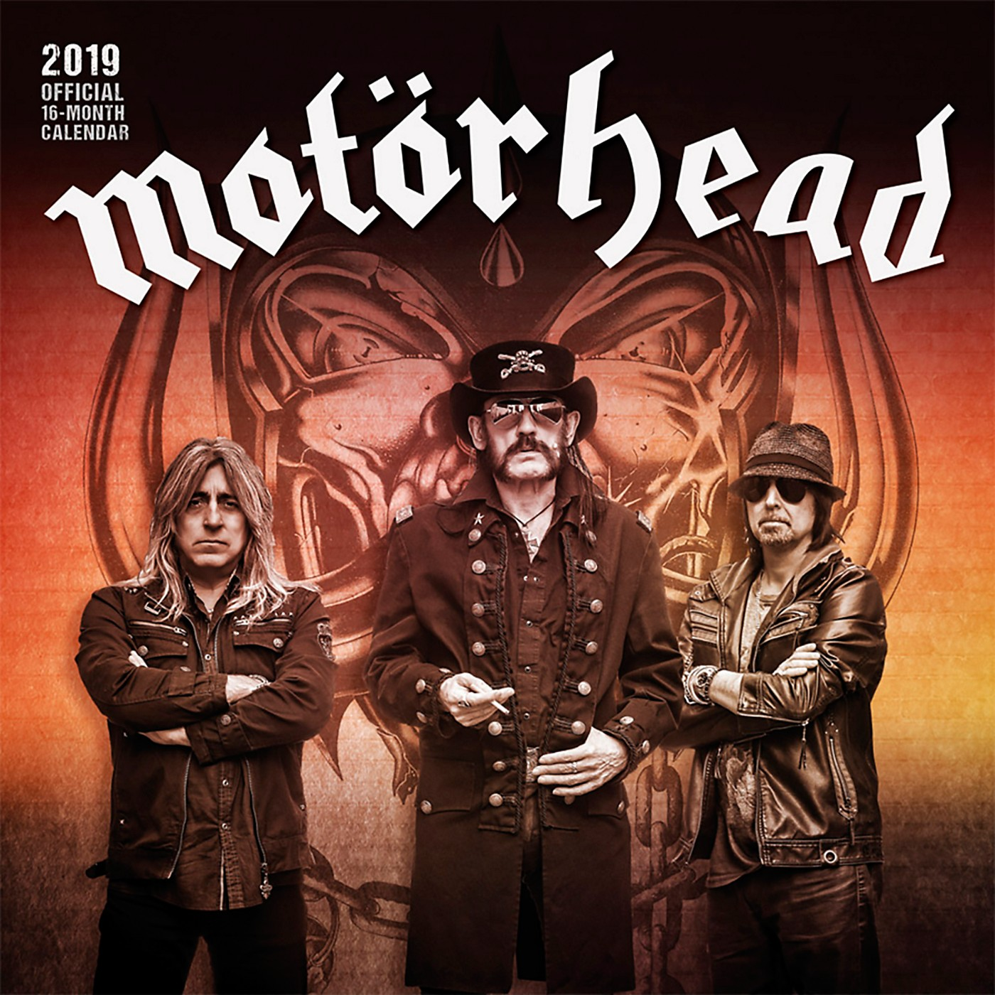 Browntrout Publishing Motorhead 2019 Calendar thumbnail