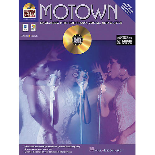 Isong Motown - 50 Classic Hits for Piano/Vocal/Guitar (CD-ROM)-thumbnail