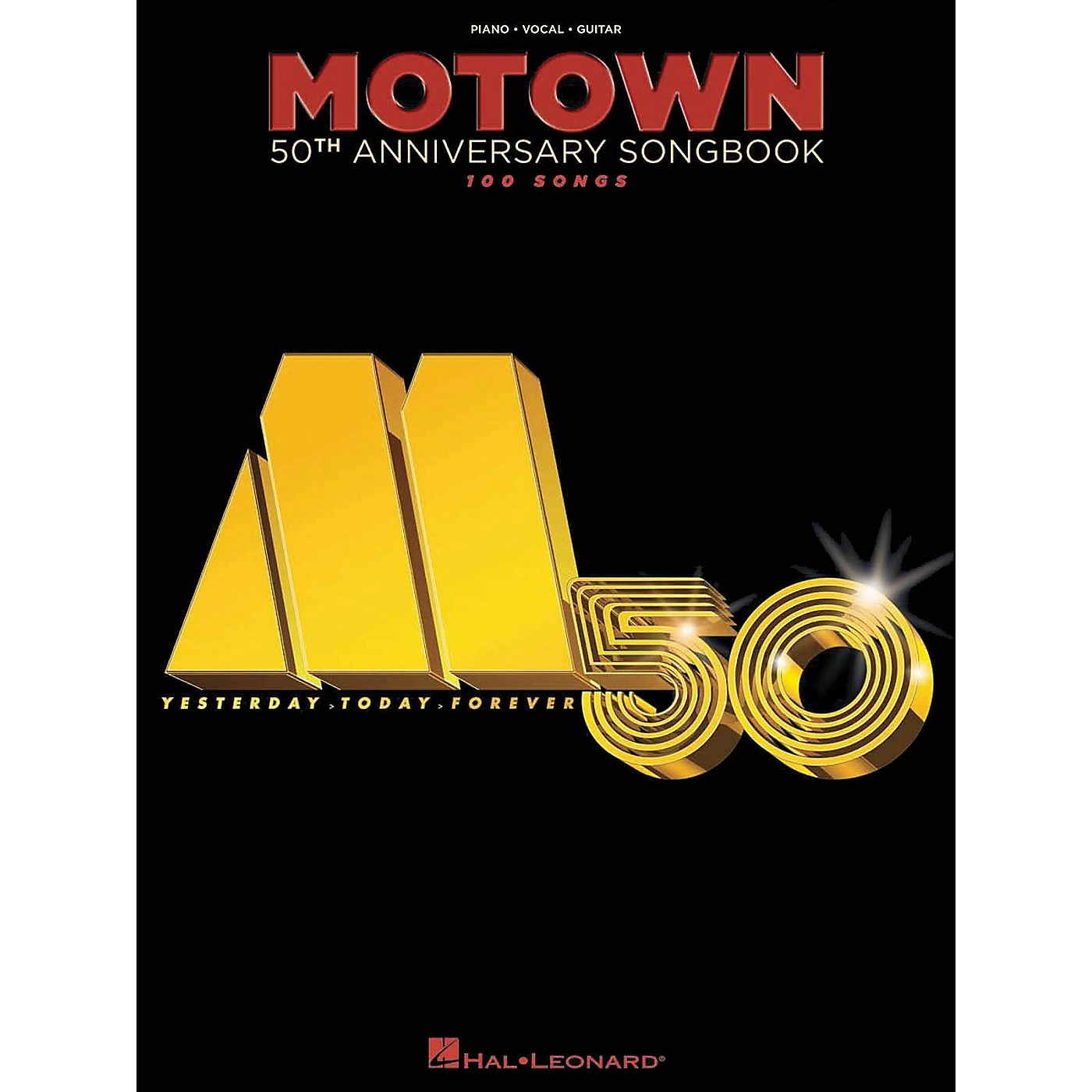 Hal Leonard Motown 50th Anniversary Songbook arranged for piano, vocal, and guitar (P/V/G) thumbnail