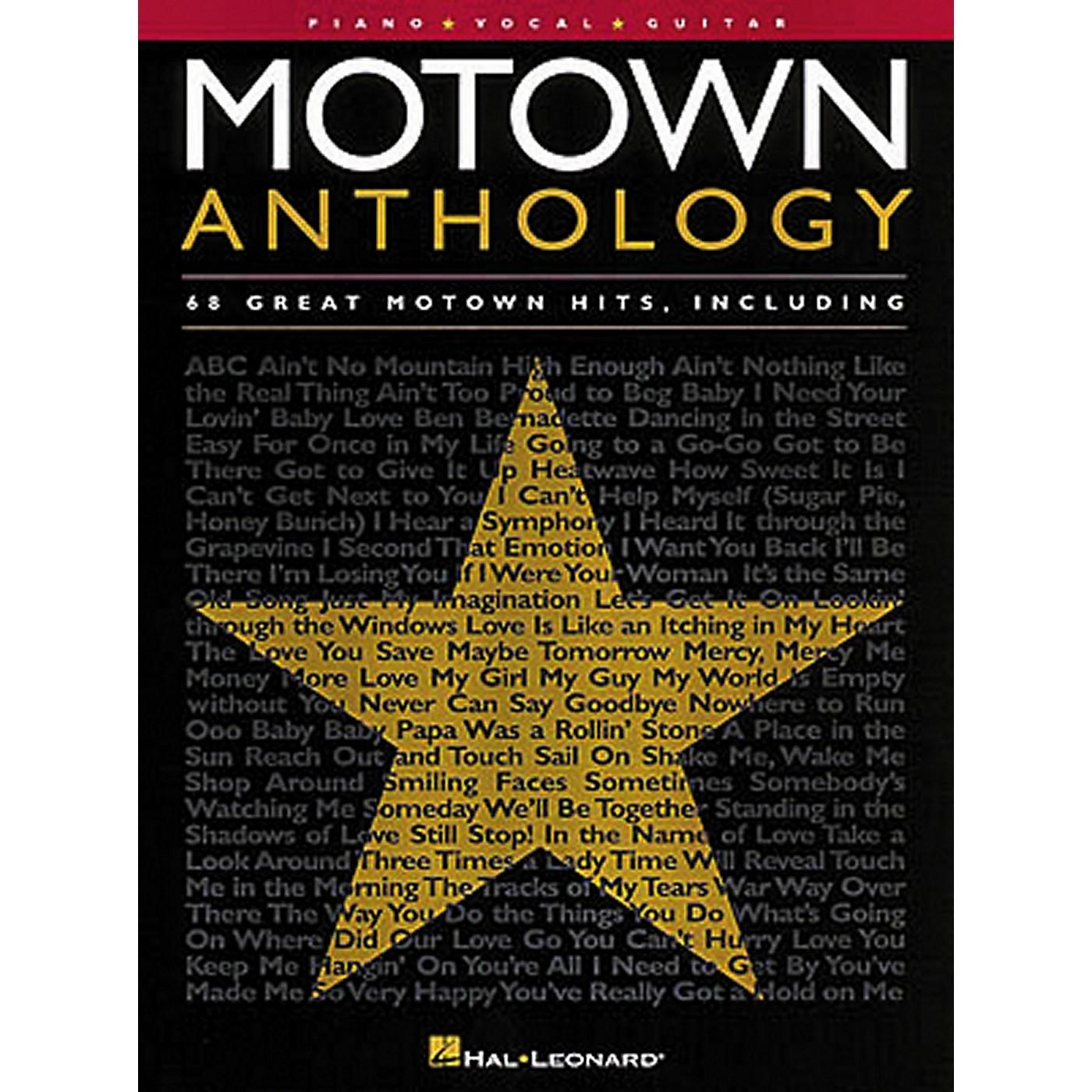 Hal Leonard Motown Anthology Piano, Vocal, Guitar Songbook thumbnail
