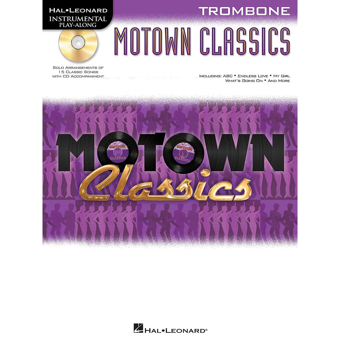 Hal Leonard Motown Classics - Instrumental Play-Along Book/Digital Download thumbnail