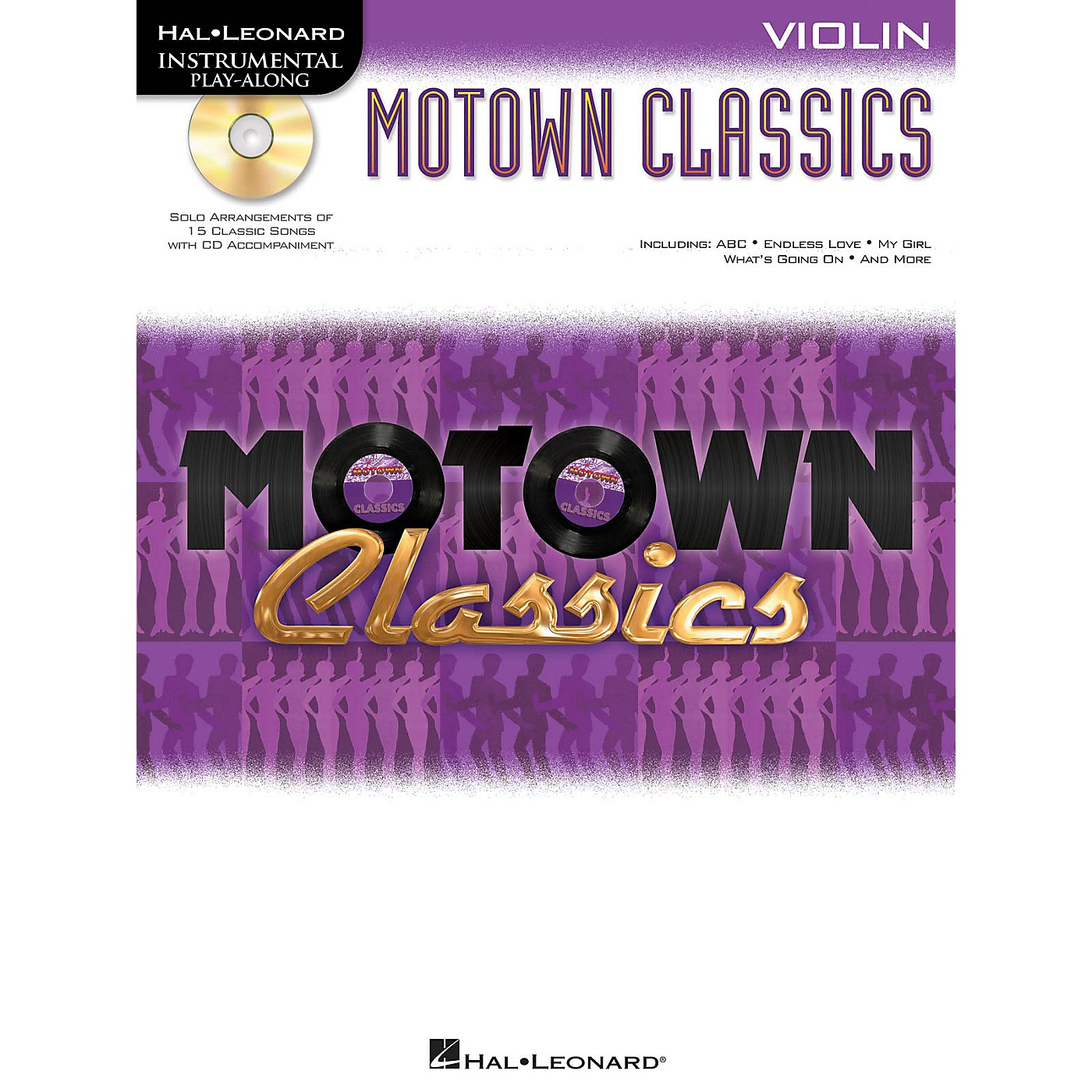 Hal Leonard Motown Classics - Instrumental Play-Along Book/Digital Download thumbnail