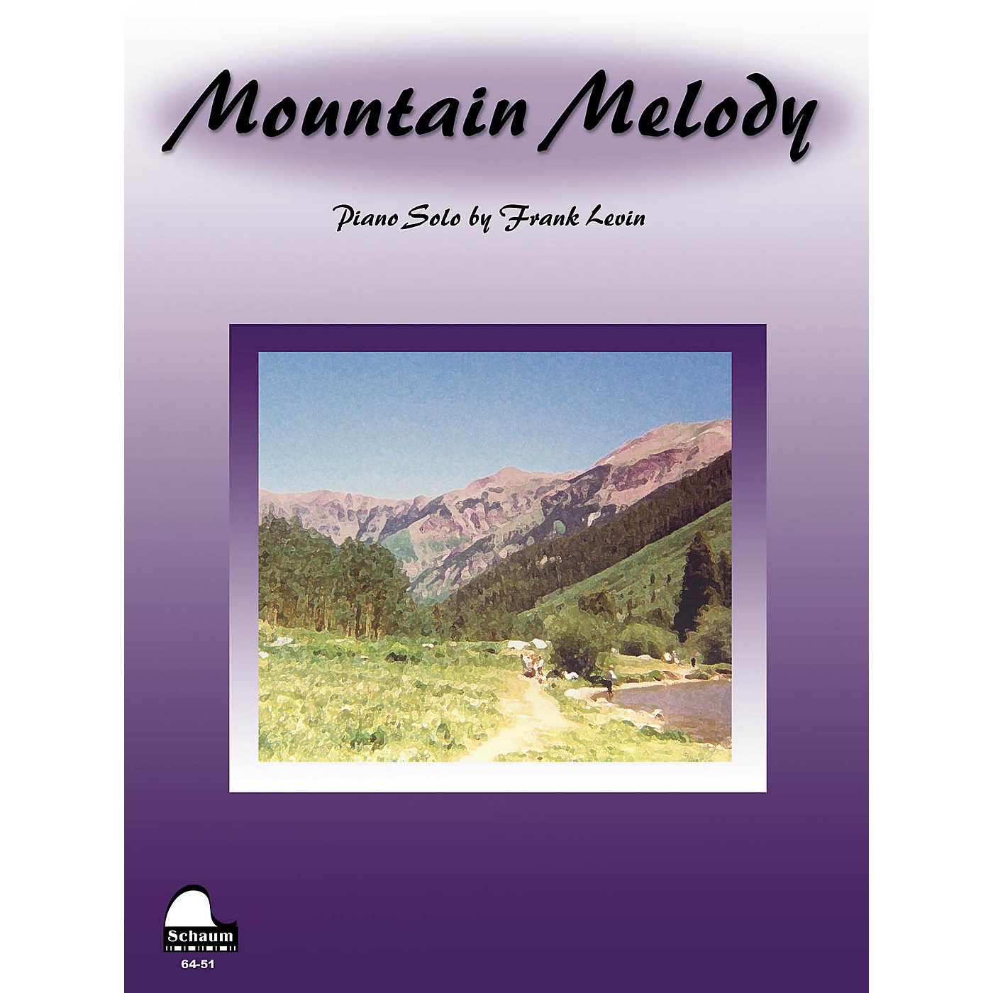 SCHAUM Mountain Melody Educational Piano Series Softcover thumbnail