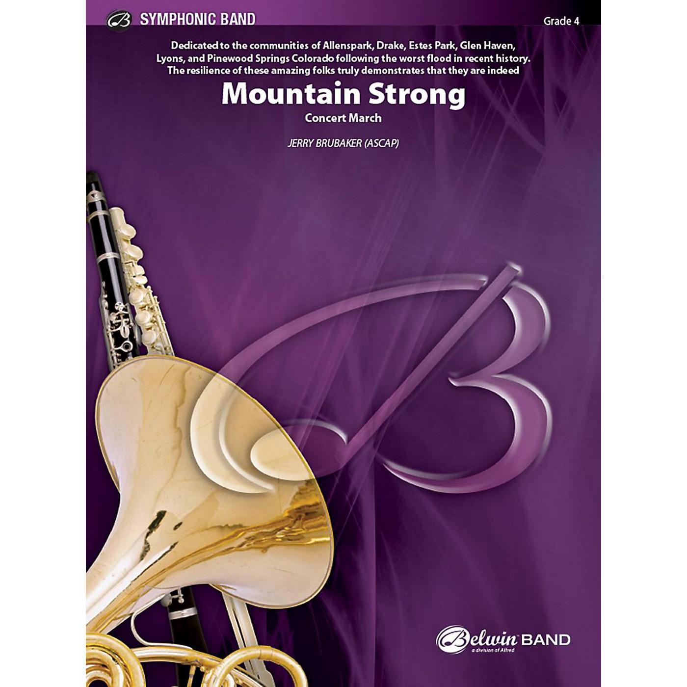 Alfred Mountain Strong Concert Band Grade 4 Set thumbnail