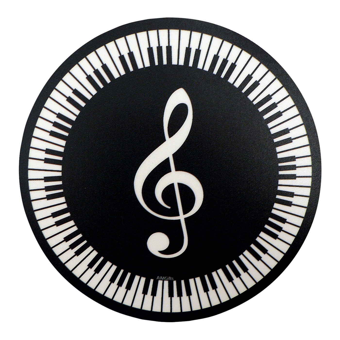 AIM Mouse Pad G Clef Round thumbnail
