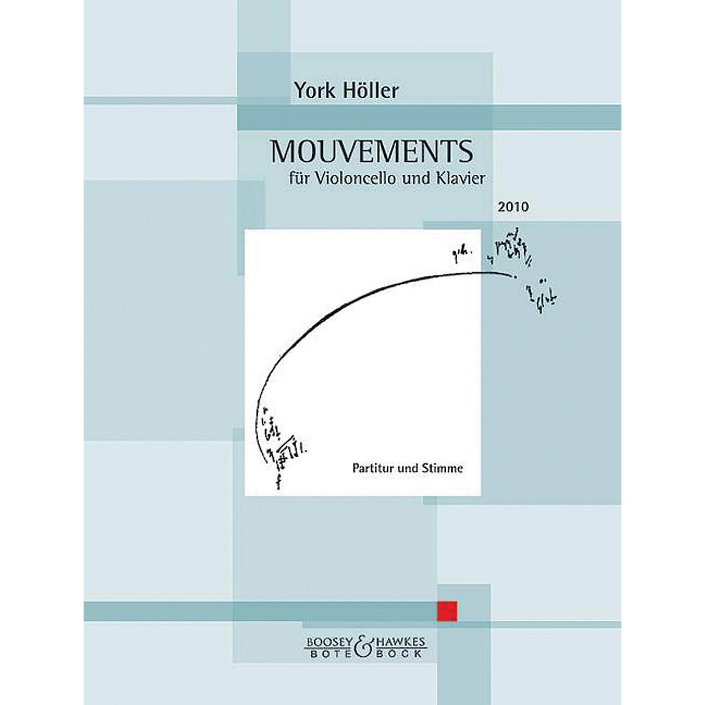 Hal Leonard Mouvement (movement) Cell And Piano Score & Parts Boosey & Hawkes Chamber Music Series Softcover thumbnail