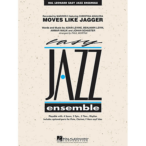 Hal Leonard Moves Like Jagger Jazz Band Level 2 By Maroon 5 Arranged Paul Murtha: Clarinet Sheet Music For Moves Like Jagger At Alzheimers-prions.com