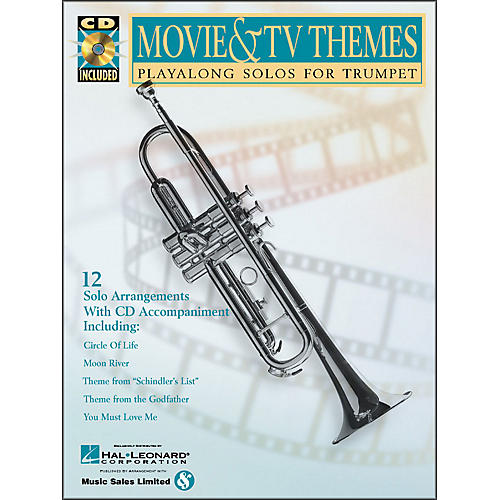 Hal Leonard Movie And TV Themes Playalong Solos for Trumpet Book/CD thumbnail