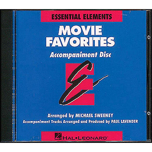 Hal Leonard Movie Favorites CD-thumbnail