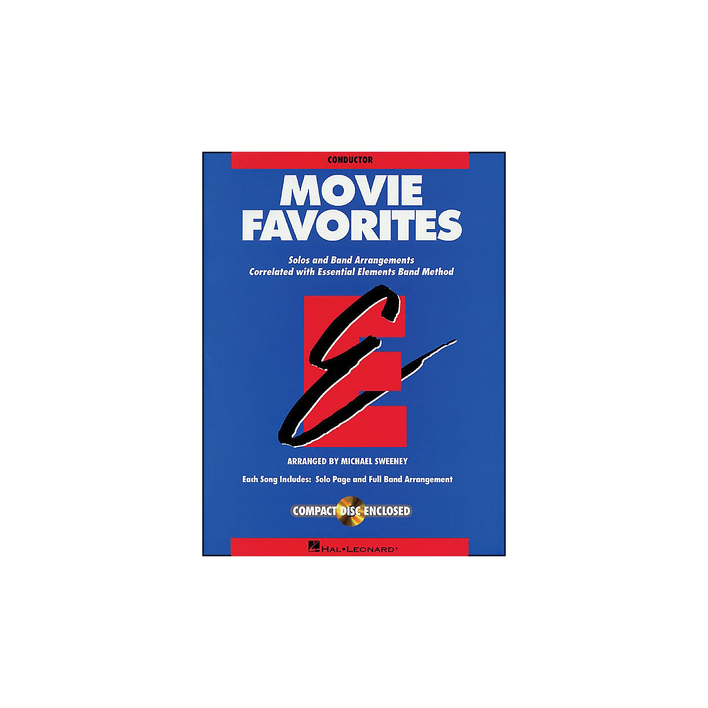 Hal Leonard Movie Favorites Conductor Book/CD thumbnail