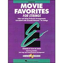 Hal Leonard Movie Favorites Conductor Essential Elements Strings CD/Pkg