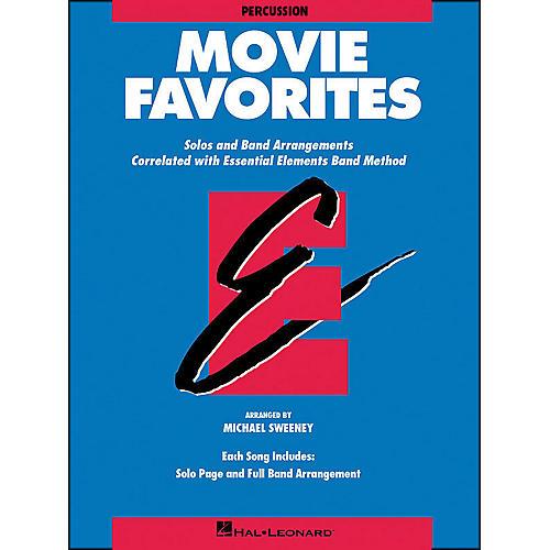 Hal Leonard Movie Favorites Percussion thumbnail