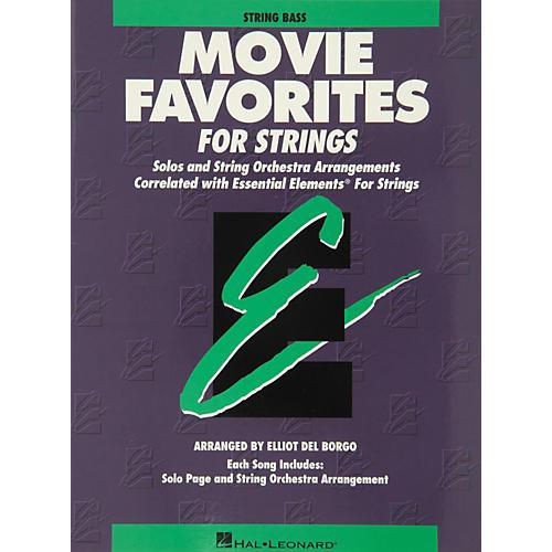 Hal Leonard Movie Favorites String Bass Essential Elements thumbnail