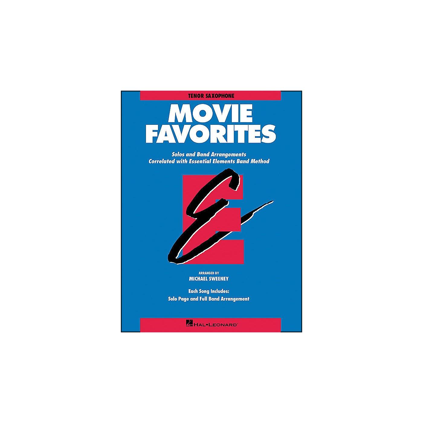 Hal Leonard Movie Favorites Tenor Saxophone thumbnail