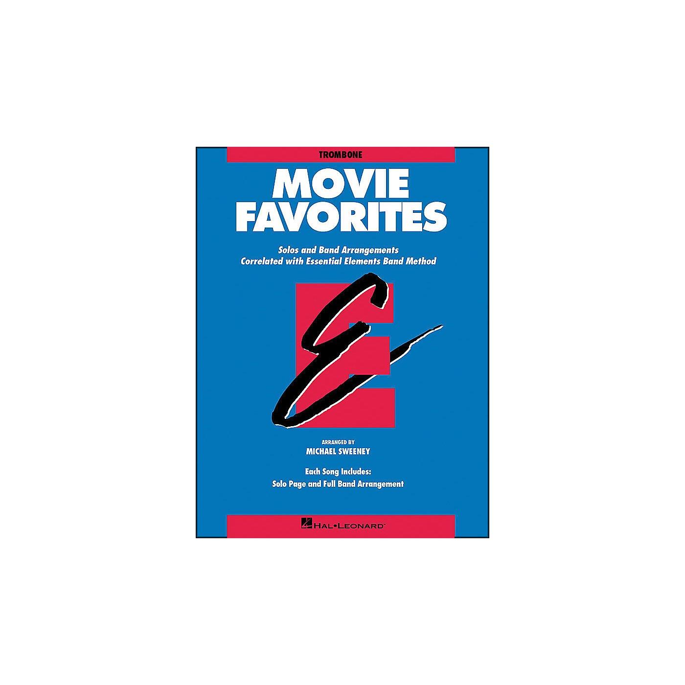 Hal Leonard Movie Favorites Trombone thumbnail