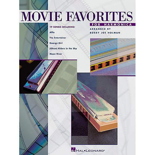 Hal Leonard Movie Favorites for Harmonica Harmonica Series thumbnail