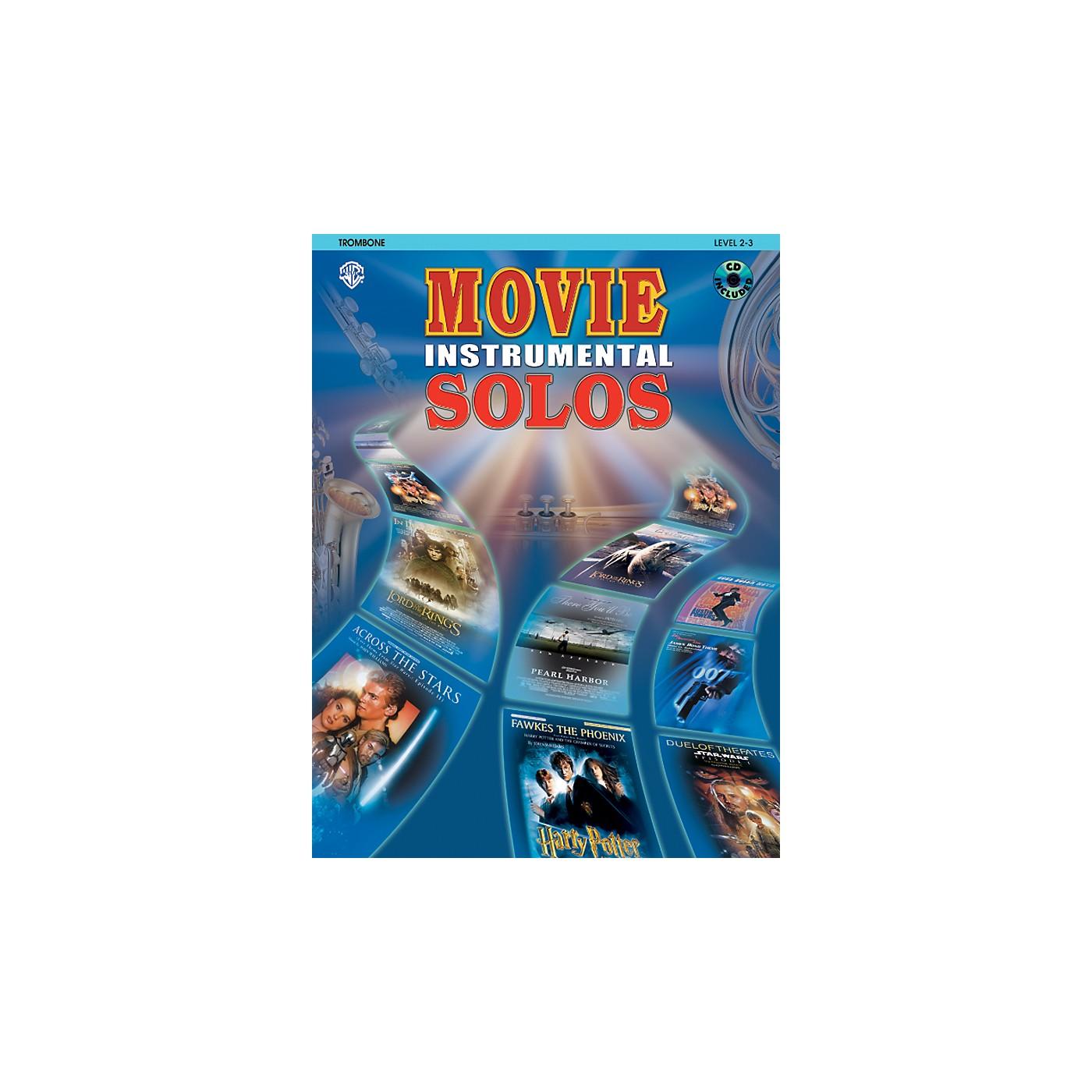 Alfred Movie Instrumental Solos Trombone Book & CD thumbnail