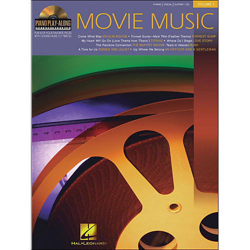 Hal Leonard Movie Music Piano Play-Along Volume 1 Book/CD arranged for piano, vocal, and guitar (P/V/G) thumbnail