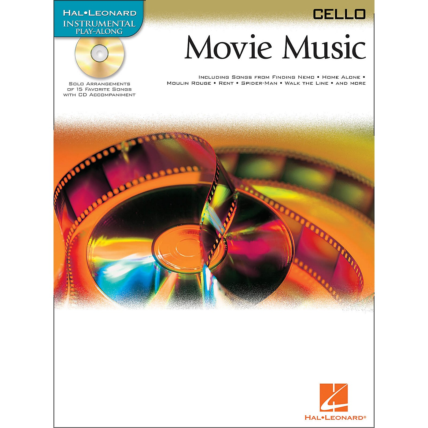 Hal Leonard Movie Music for Cello Book/CD thumbnail