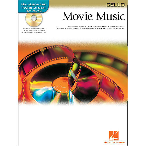 Hal Leonard Movie Music for Cello Book/CD thumbnail