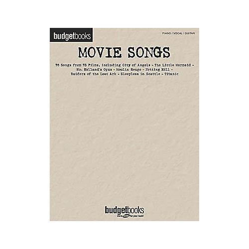Hal Leonard Movie Songs Piano/Vocal/Guitar Songbook thumbnail