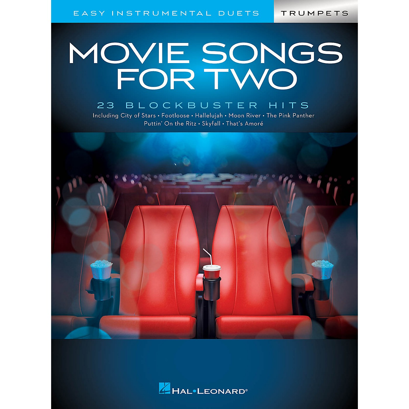 Hal Leonard Movie Songs for Two Trumpets - Easy Instrumental Duets thumbnail