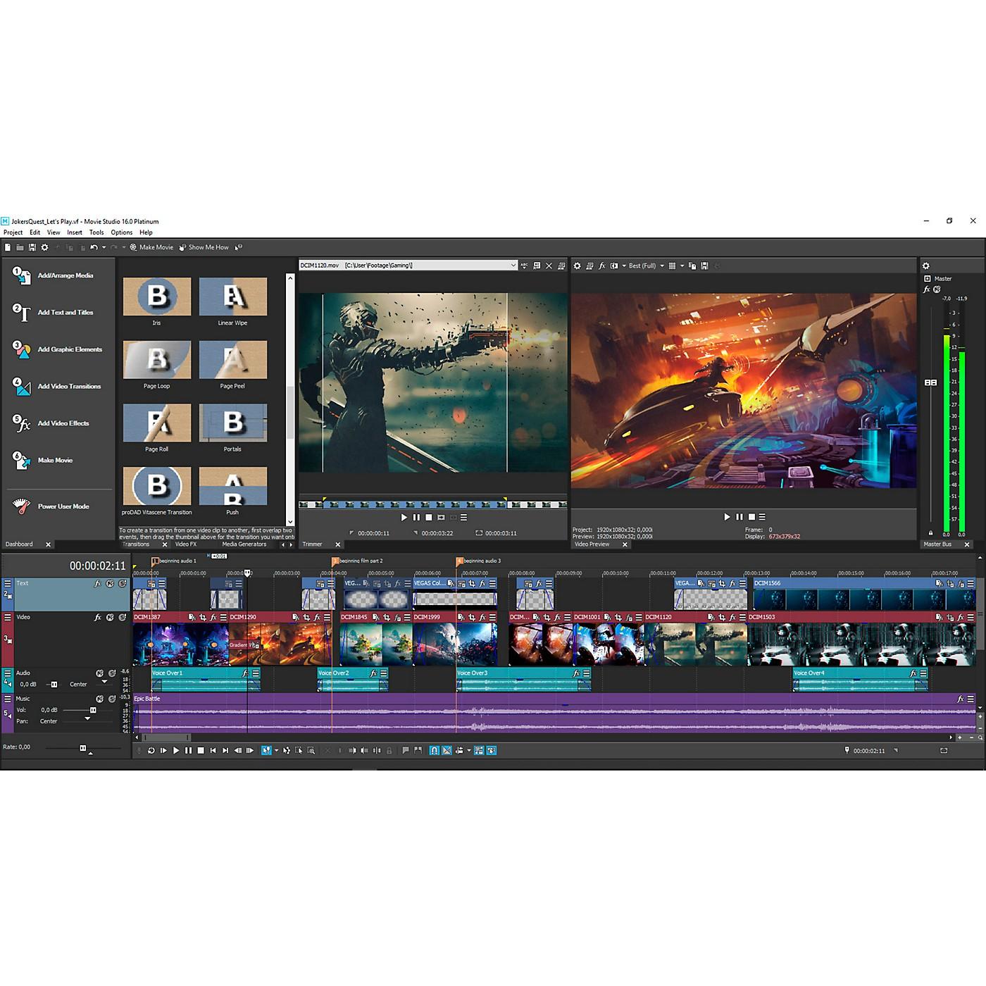 Magix Movie Studio 16 Suite thumbnail