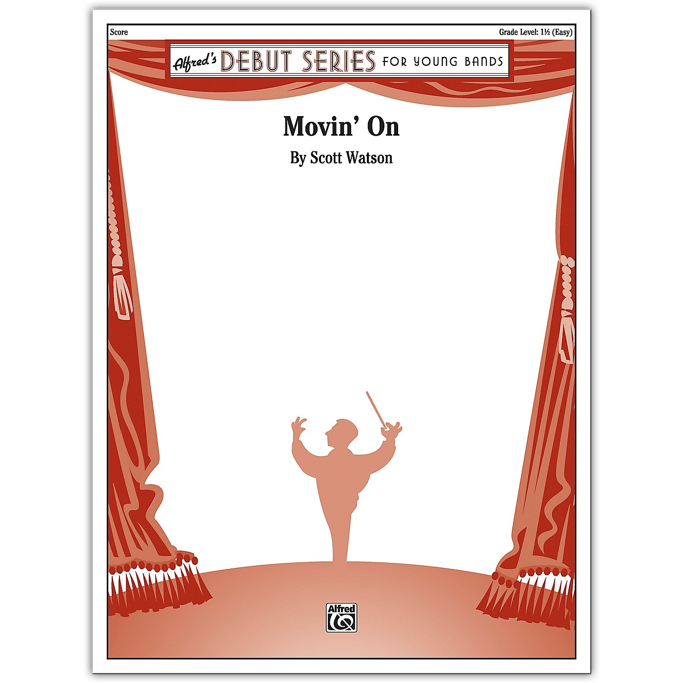 Alfred Movin' On Conductor Score 1.5 (Easy) thumbnail
