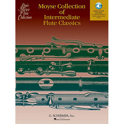 G. Schirmer Moyse Collection of Intermediate Flute Classics Woodwind Solo Series Softcover Audio Online thumbnail