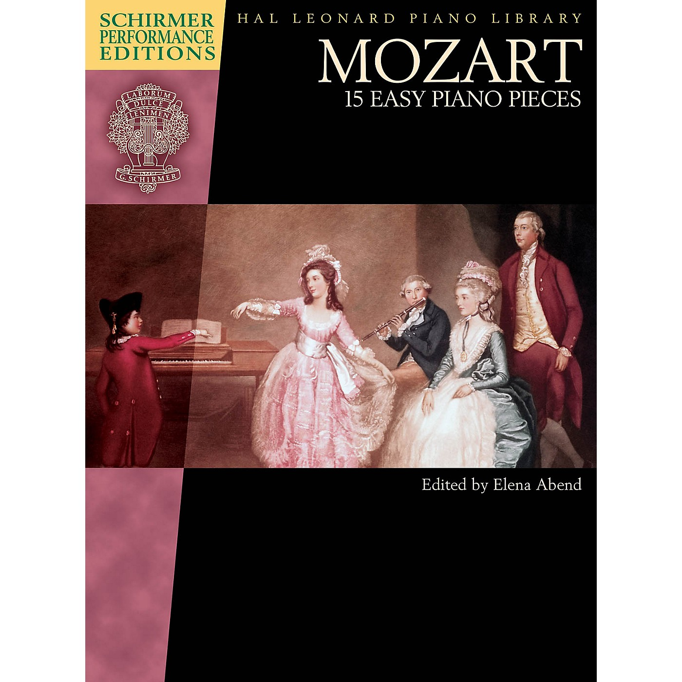 G. Schirmer Mozart - 15 Easy Piano Pieces Schirmer Performance Editions Softcover by Mozart Edited by Elena Abend thumbnail