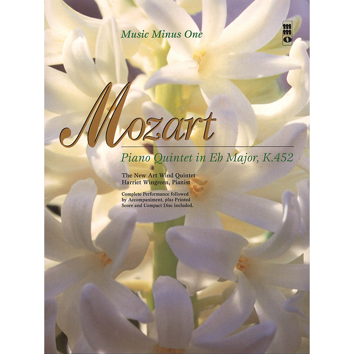Music Minus One Mozart - Piano Quintet in Eb Major, K.452 Music Minus One Softcover with CD by Wolfgang Amadeus Mozart thumbnail