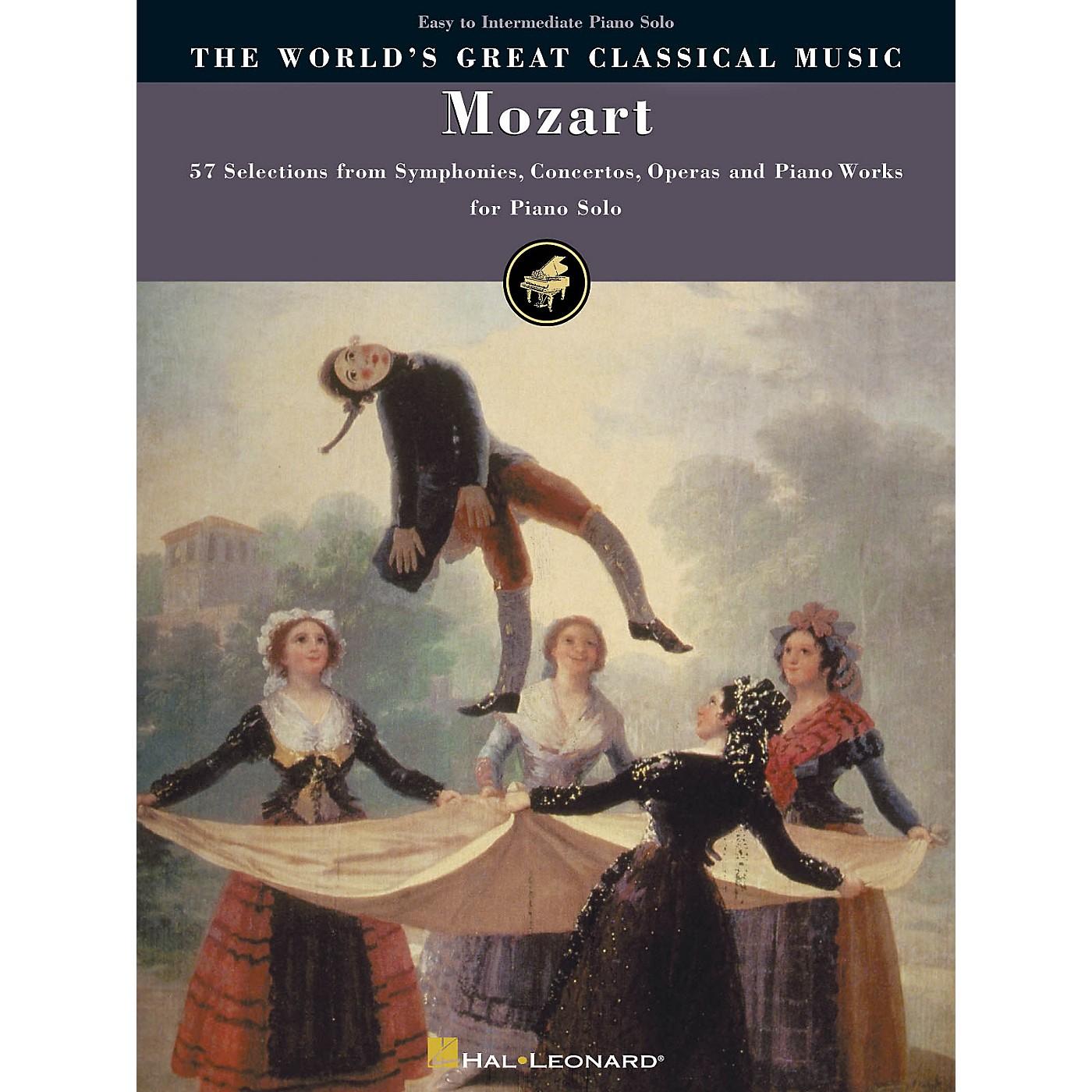 Hal Leonard Mozart - Simplified Piano Solos World's Greatest Classical Music Series (Intermediate) thumbnail