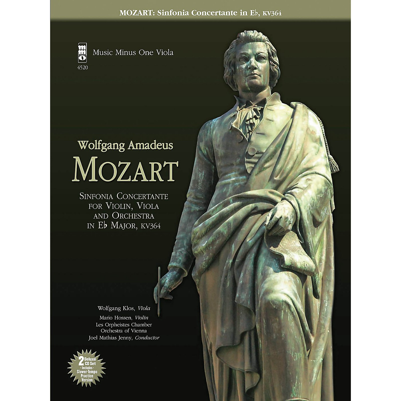 Music Minus One Mozart - Sinfonia Concertante in E-flat, KV364 Music Minus One Series Softcover with CD thumbnail
