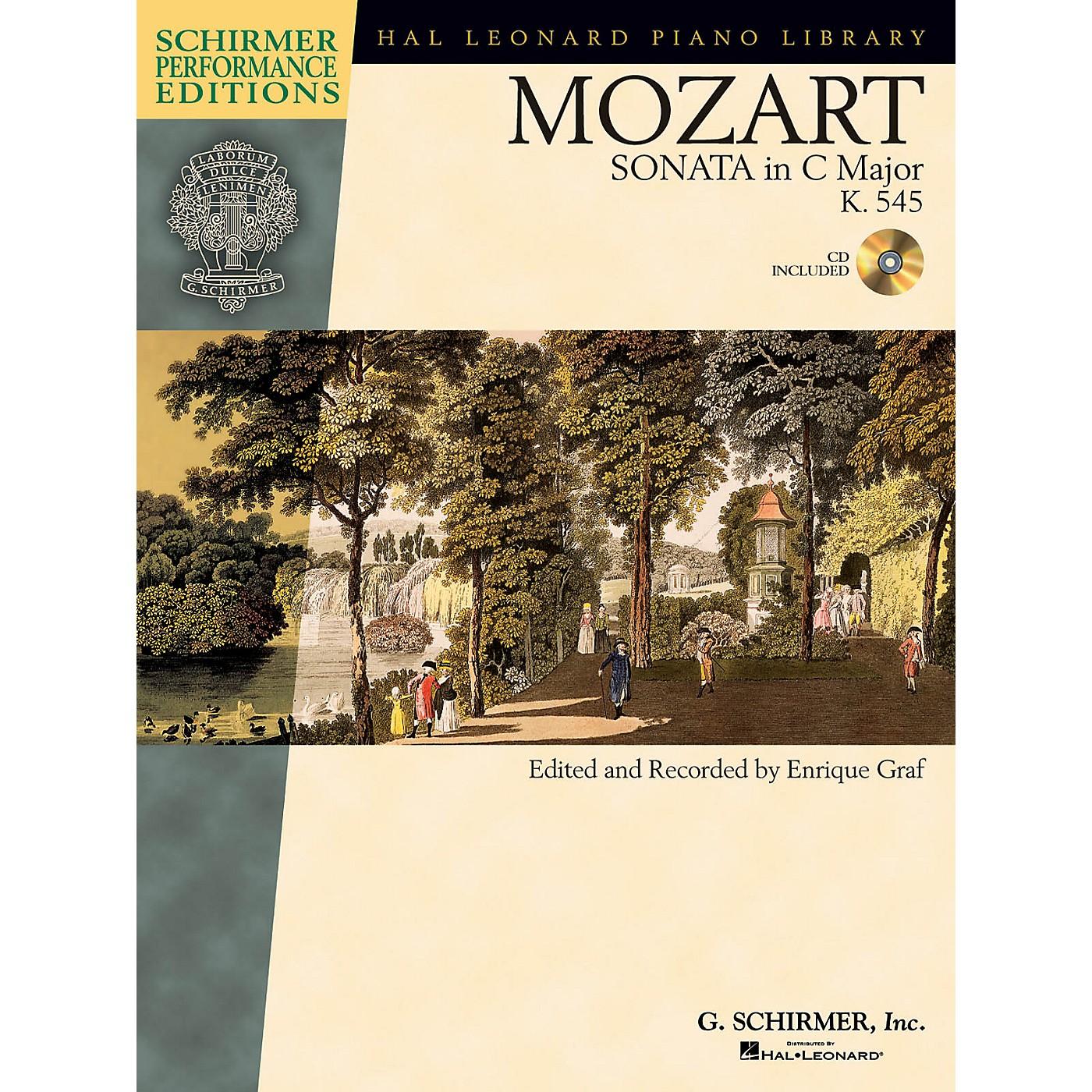 G. Schirmer Mozart - Sonata in C Major, K. 545, Sonata Facile Schirmer Performance Editions Softcover Audio Online thumbnail