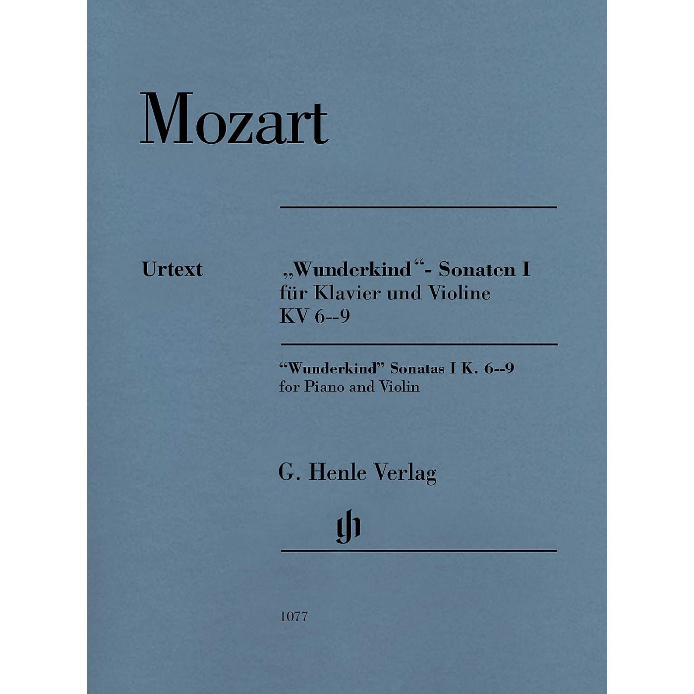 G. Henle Verlag Mozart - Wunderkind Sonatas, Vol 1, K6-9 Henle Music by Mozart Edited by Wolf-Dieter Seiffert thumbnail