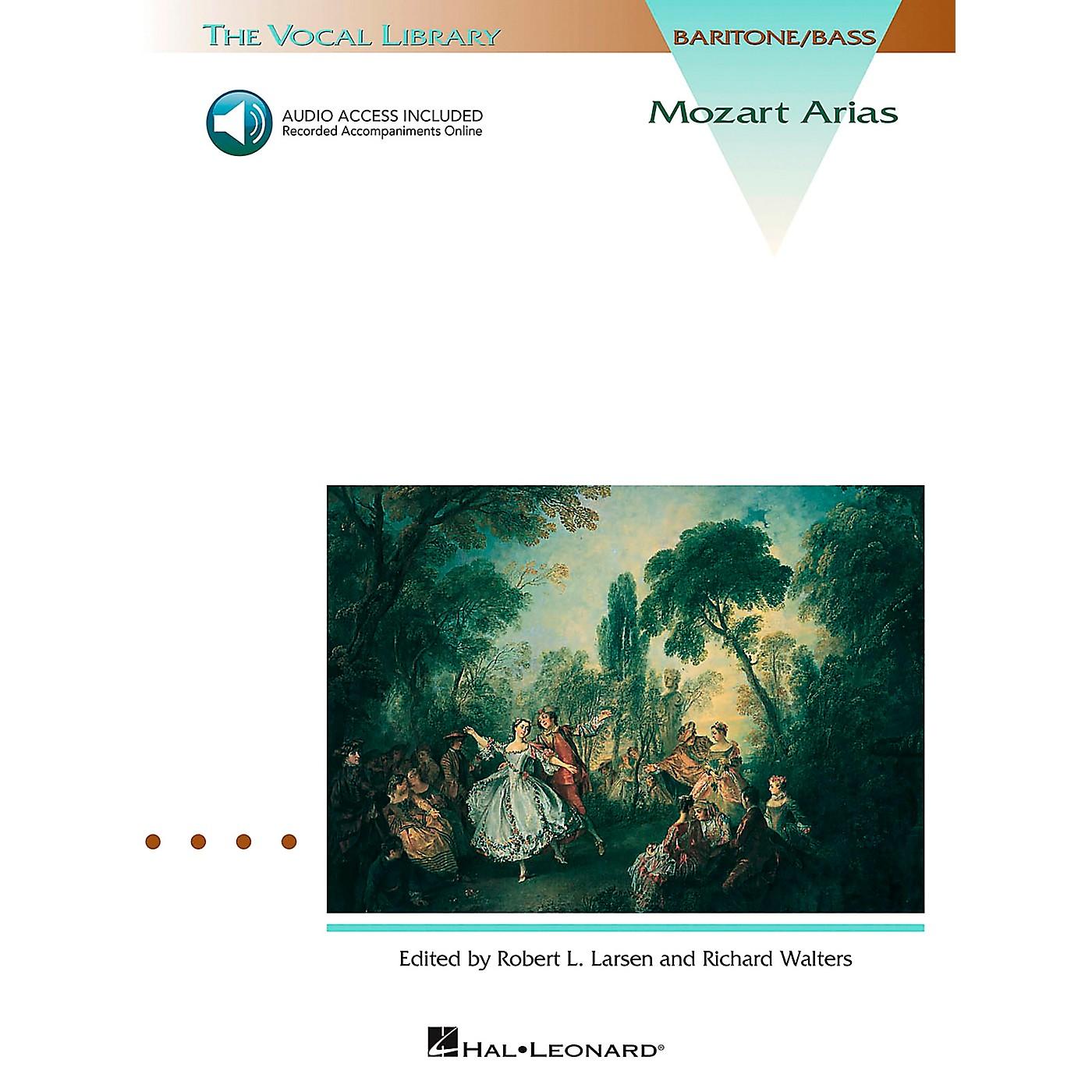 Hal Leonard Mozart Arias for Bass Book/CD thumbnail