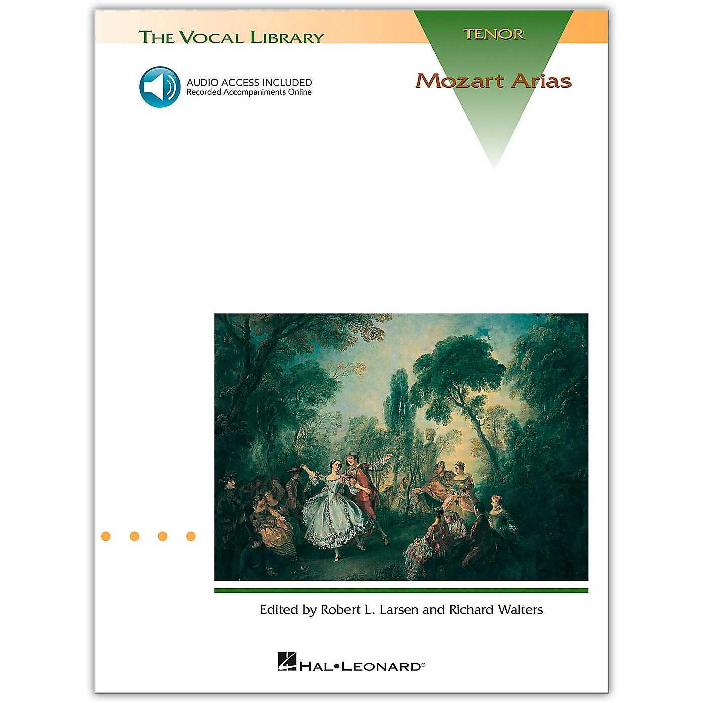 Hal Leonard Mozart Arias for Tenor Voice (Book/Online Audio) thumbnail