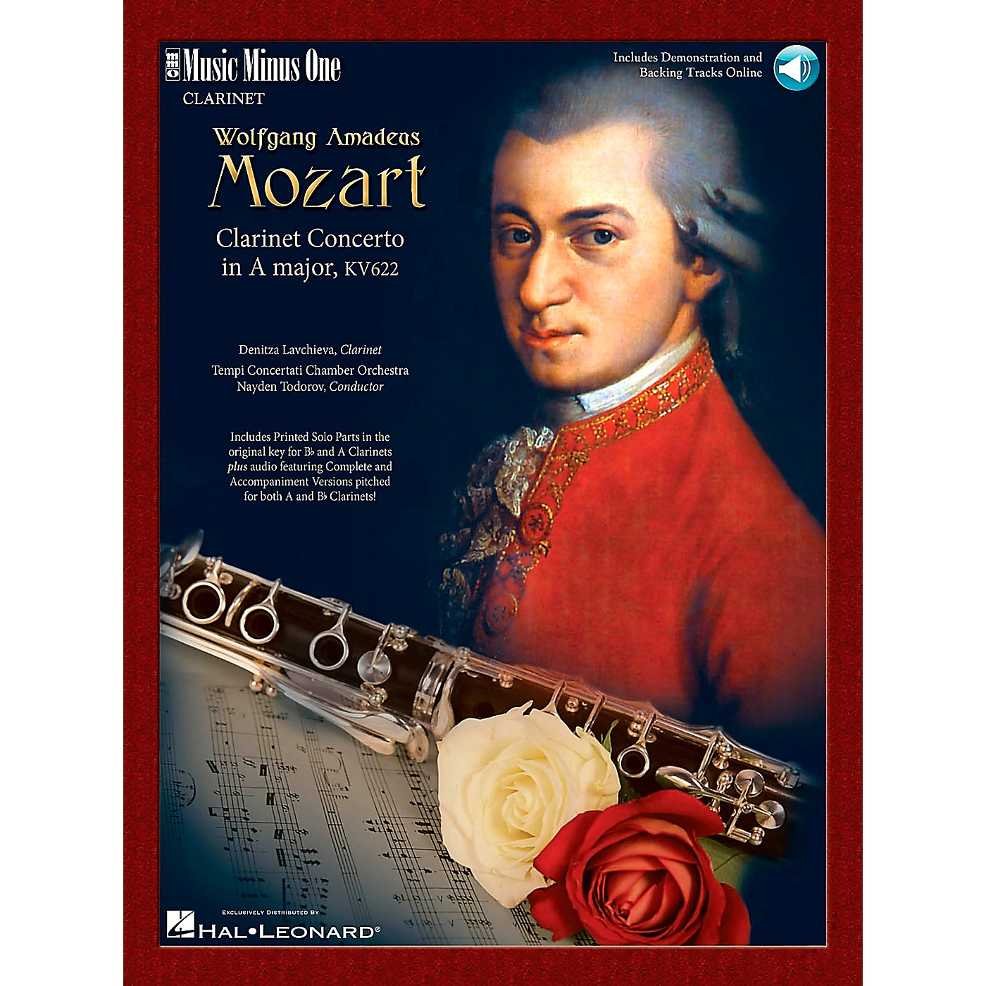 Hal Leonard Mozart Clarinet Concerto A thumbnail