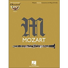 Hal Leonard Mozart: Clarinet Concerto In A Major, Kv 622 Classical Play-Along Book/CD Vol.4