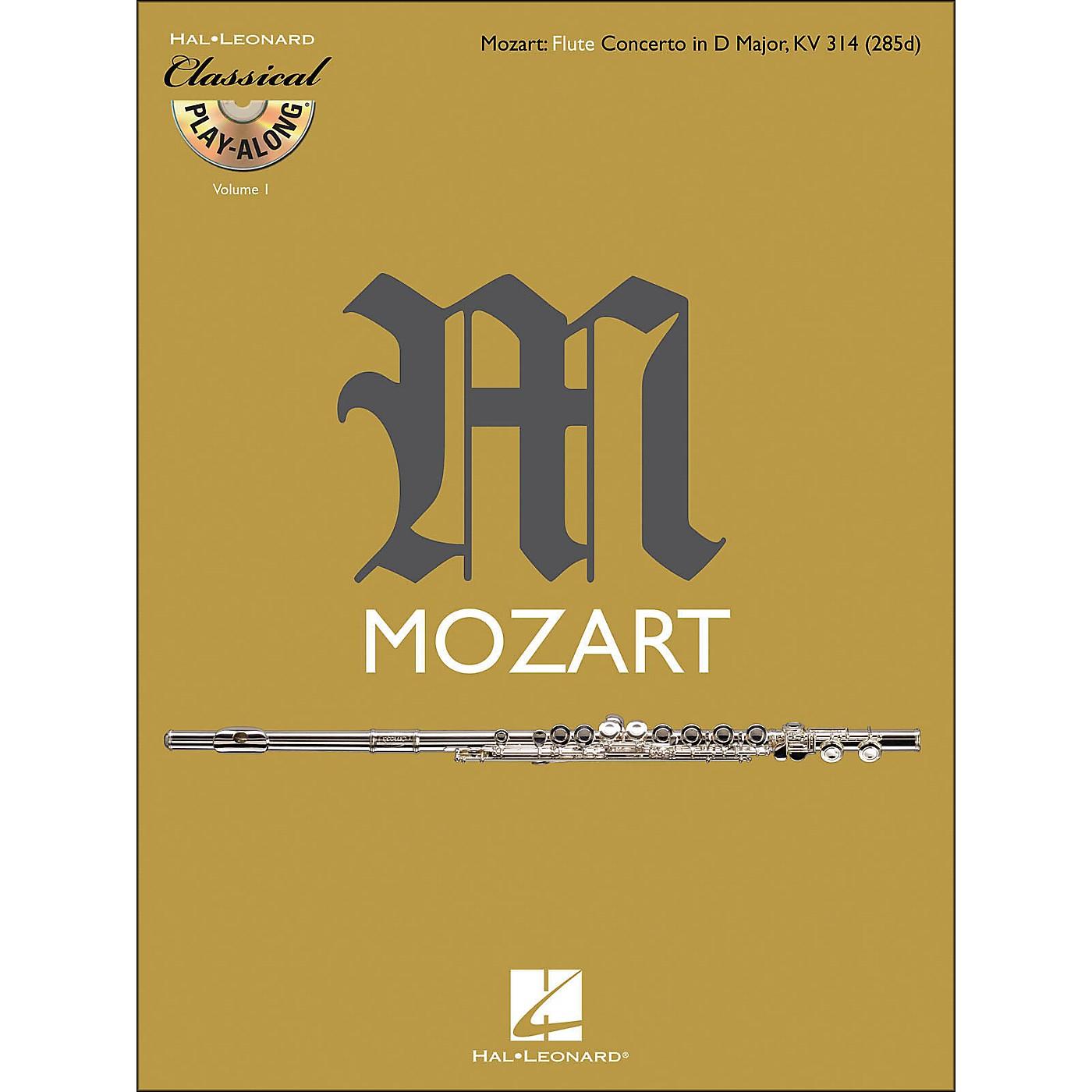 Hal Leonard Mozart: Flute Concerto In D M Ajor, Kv 314 Classical Play-Along Book/CD Vol.1 thumbnail