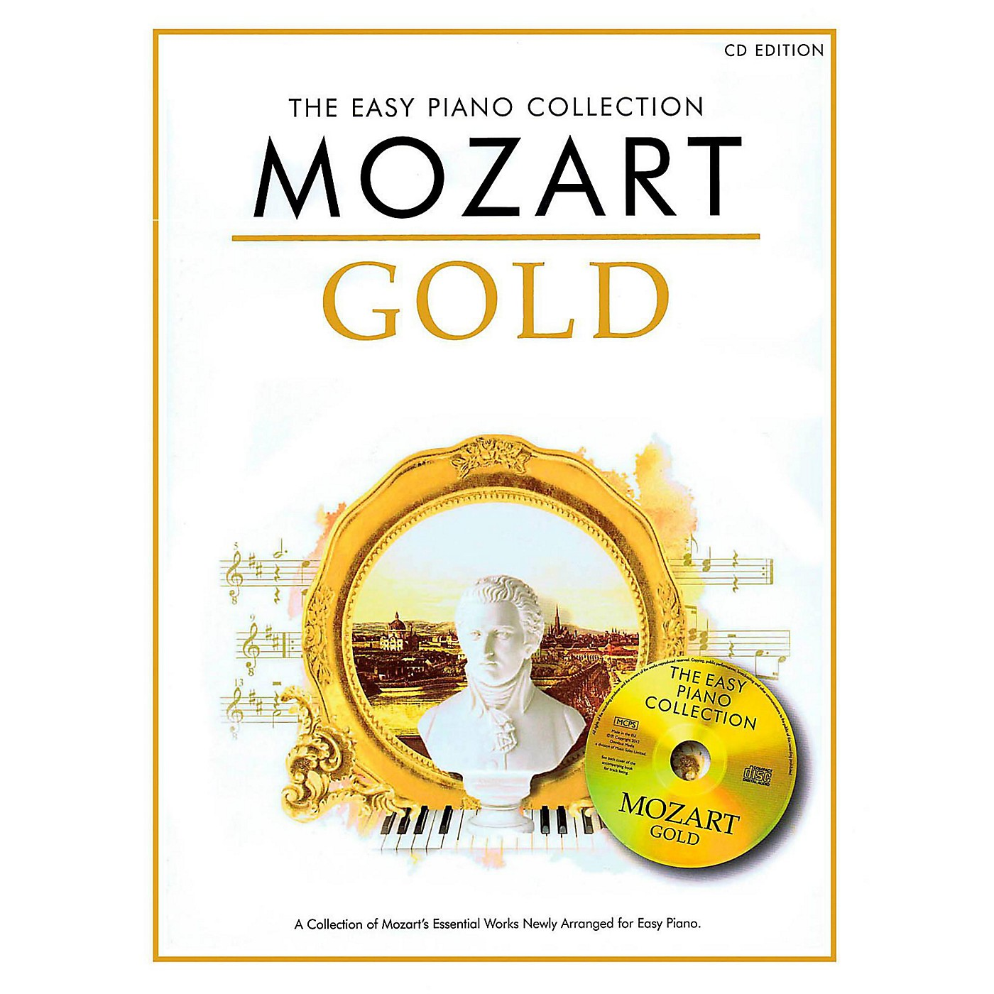 Music Sales Mozart Gold - The Easy Piano Collection Book/CD thumbnail