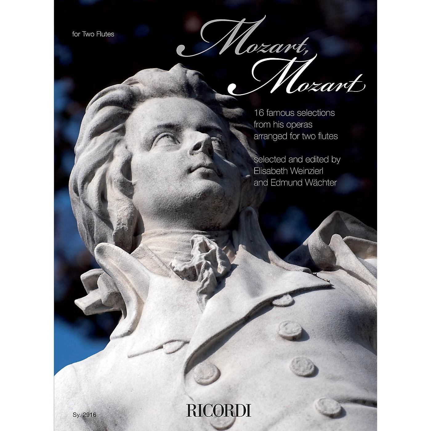 Ricordi Mozart, Mozart Ricordi Germany Series Softcover Composed by Wolfgang Amadeus Mozart thumbnail